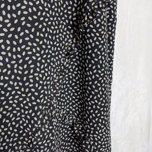 Harold's Skirts - Harold's Full Length Ruffled Maxi Skirt Sz 8